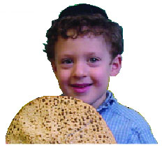 Boy with Matzah